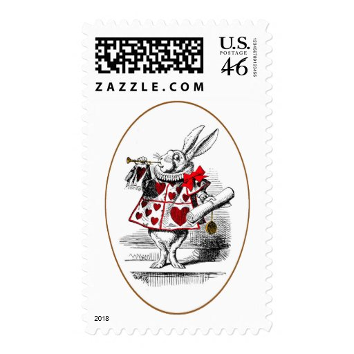 The White Rabbit Postage