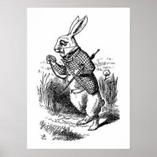 The White Rabbit Poster