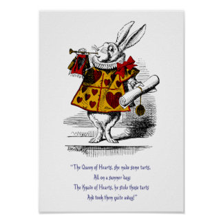 The White Rabbit Print Posters