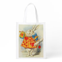 The White Rabbit Reusable Grocery Bag