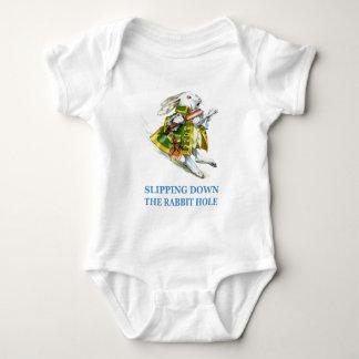 The White Rabbit Slips Down the Rabbit Hole! Tee Shirt