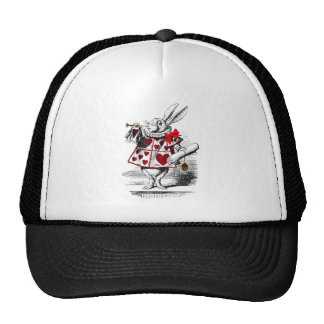 The White Rabbit Trucker Hat