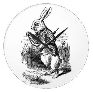 The White Rabbit Wallclocks
