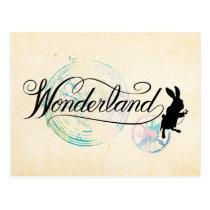 The White Rabbit | Wonderland Postcard