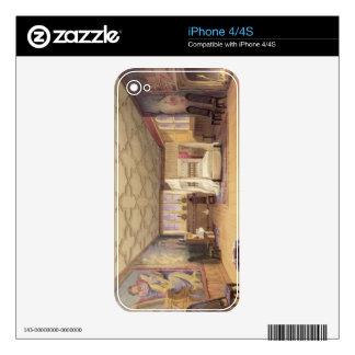 The White Room, Cotehele house, c.1830-40 (colour iPhone 4 Skins