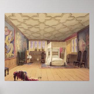 The White Room, Cotehele house, c.1830-40 (colour Poster