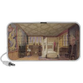 The White Room, Cotehele house, c.1830-40 (colour Travel Speakers