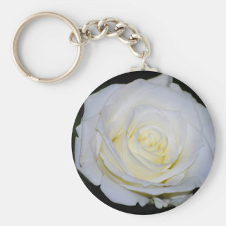 The White Rose.... Keychain