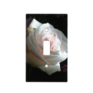 The White Rose - Light Switch Cover