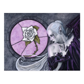 The White Rose postcard