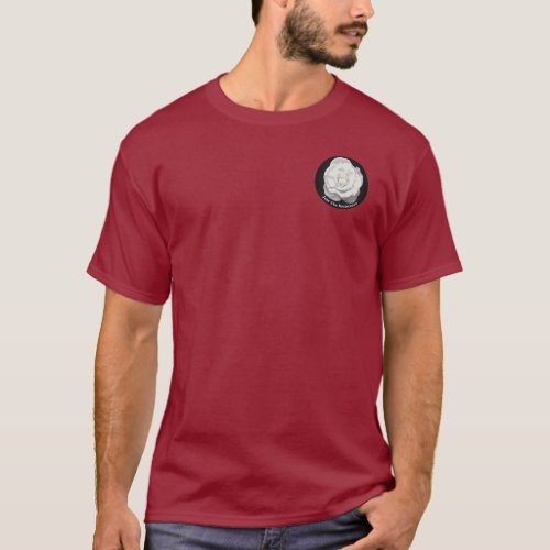 The White Rose Society Anti_Fascism Emblem T_Shirt