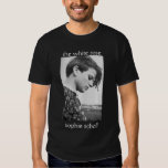 the white rose, sophie scholl t shirt