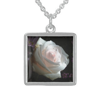 The White Rose - Sterling Silver Necklace