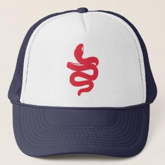 """""""The White Snake"""" Trucker Hat"""