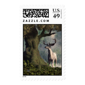 The White Stag Stamp