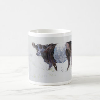 The White Stripe Coffee Mug