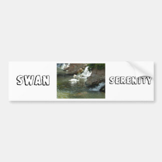 The White Swan Bumper Sticker