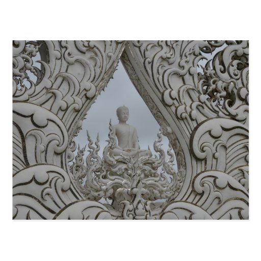 The White Temple Post Card