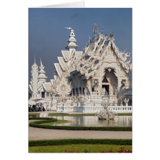 The White Temple (Wat Rong Khun), Thailand Card