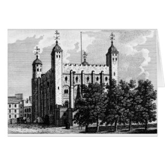The White Tower, or Tower of London Card