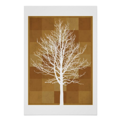 The White Tree Print
