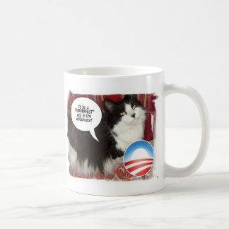 The Whitehouse Pet Kitty Cat Coffee Mug