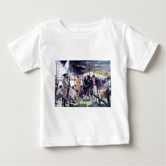 The Whites of Their Eyes by Ken Riley Baby T-Shirt