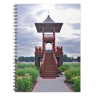 The Whitney Tower Spiral Notebook