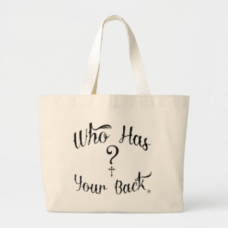 The Who Has Your Back Collection Bag