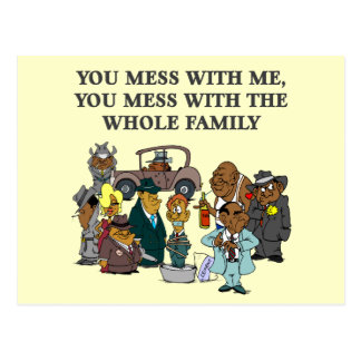 The Whole Family Postcard