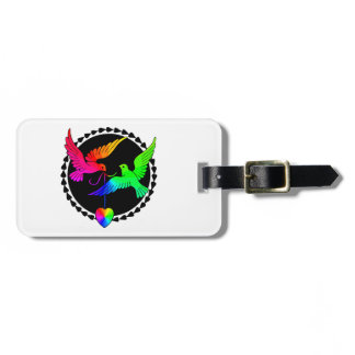 The Whole of the Rainbow Gay Honeymoon Luggage Tag