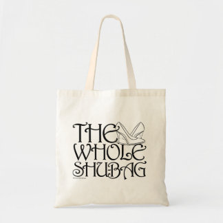 """The Whole Shu-bag"" shoe bag (B&W)"