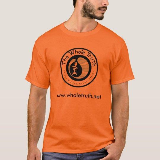 The Whole Truth: t-shirt orange
