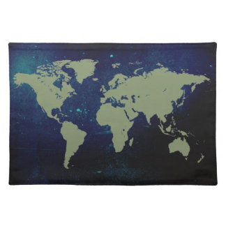 The Whole World American MoJo Placemat Cloth Place Mat