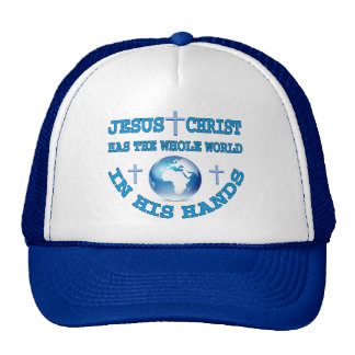 The Whole World In His Hands Mesh Hats