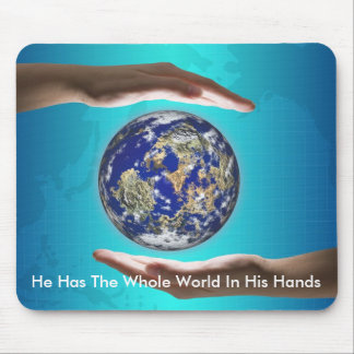 The Whole World Mouse Pad