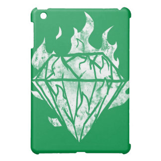 the whtie fire diamond is mine cover for the iPad mini