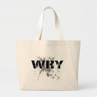 The WHY Question Canvas Bags