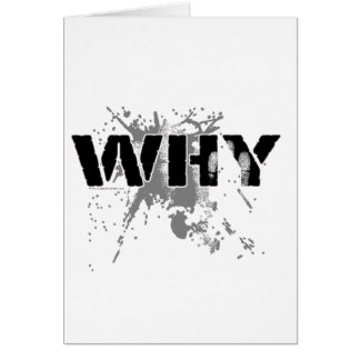 The WHY Question Cards