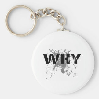 The WHY Question Keychain