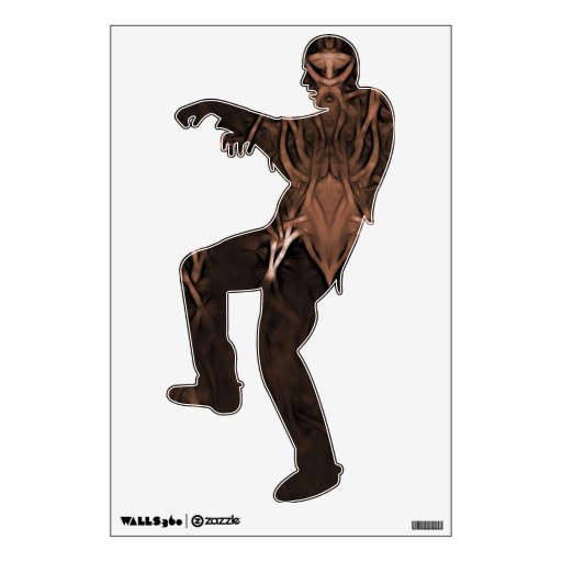 The Wicked One Zombie Wall Decal