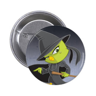 The Wicked Witch of the Tweet Badge 2 Inch Round Button
