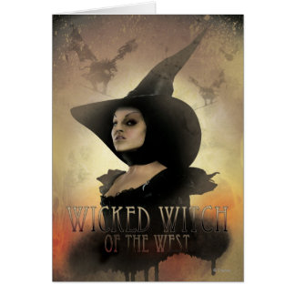 The Wicked Witch of the West 1 Greeting Card