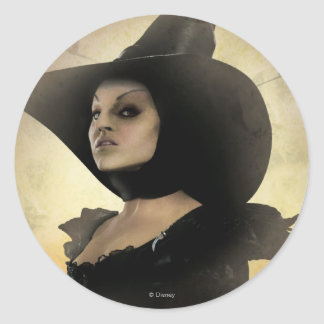 The Wicked Witch of the West 1 Classic Round Sticker