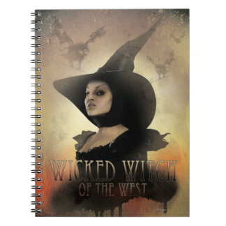 The Wicked Witch of the West 1 Spiral Notebook