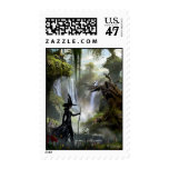 The Wicked Witch of the West 3 Postage Stamp