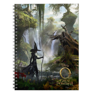 The Wicked Witch of the West 3 Spiral Note Book