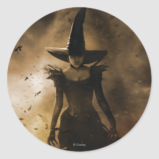 The Wicked Witch of the West 4 Classic Round Sticker
