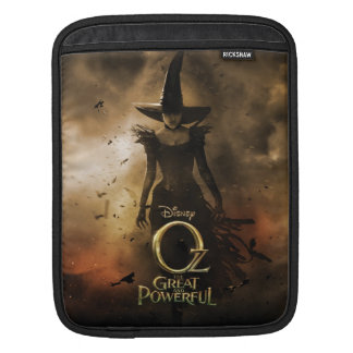 The Wicked Witch of the West 4 iPad Sleeve