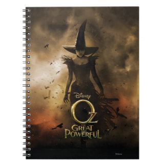 The Wicked Witch of the West 4 Spiral Notebook